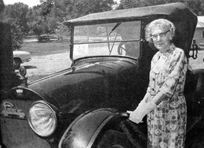 Women in Transportation History: Mary E. Landon, 1st Woman to Drive ...