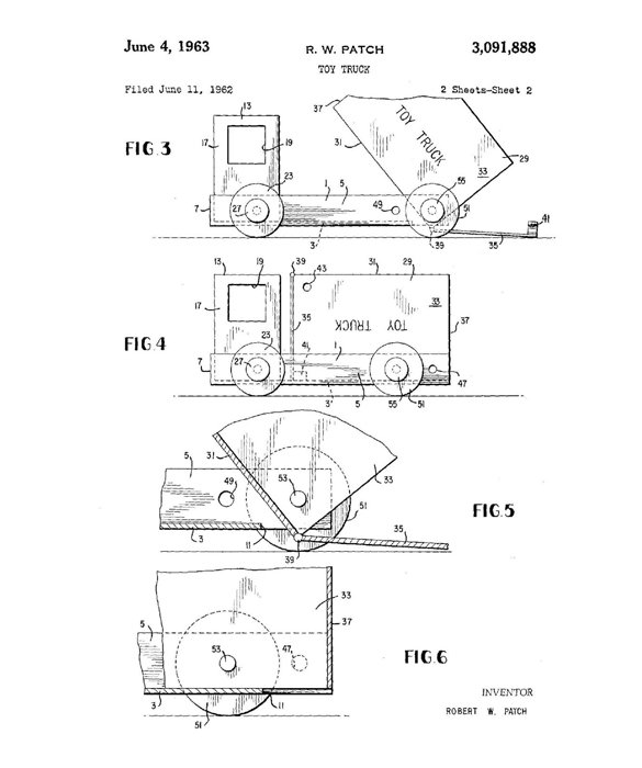A Patent for a Toy Truck at Age Six? I Really Need to Work